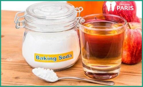 chữa hôi miệng bằng baking soda và mật ong