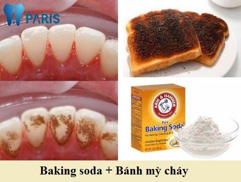 Tẩy vệt ố vàng lâu cứng chắc bằng combo baking soda và bánh mỳ cháy