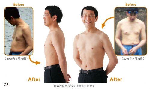 Hình ảnh giảm cân thành công của bác sĩ Masashi Kawamura